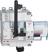 profondit/à 35 Mm Bulk Hardware BH04175 Scatola a Montaggio in Superficie Bianco Sagomata per Placca 1 Posizione