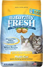 Naturally Fresh Walnut-Based Ultra Odor Control Multi-Cat Quick-Clumping Cat Litter, 26-lb bag