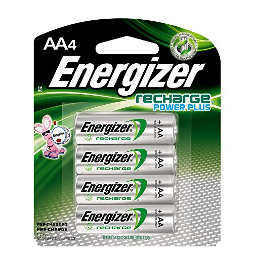 Energizer Rechargeable AA Batteries, NiMH, 2300...