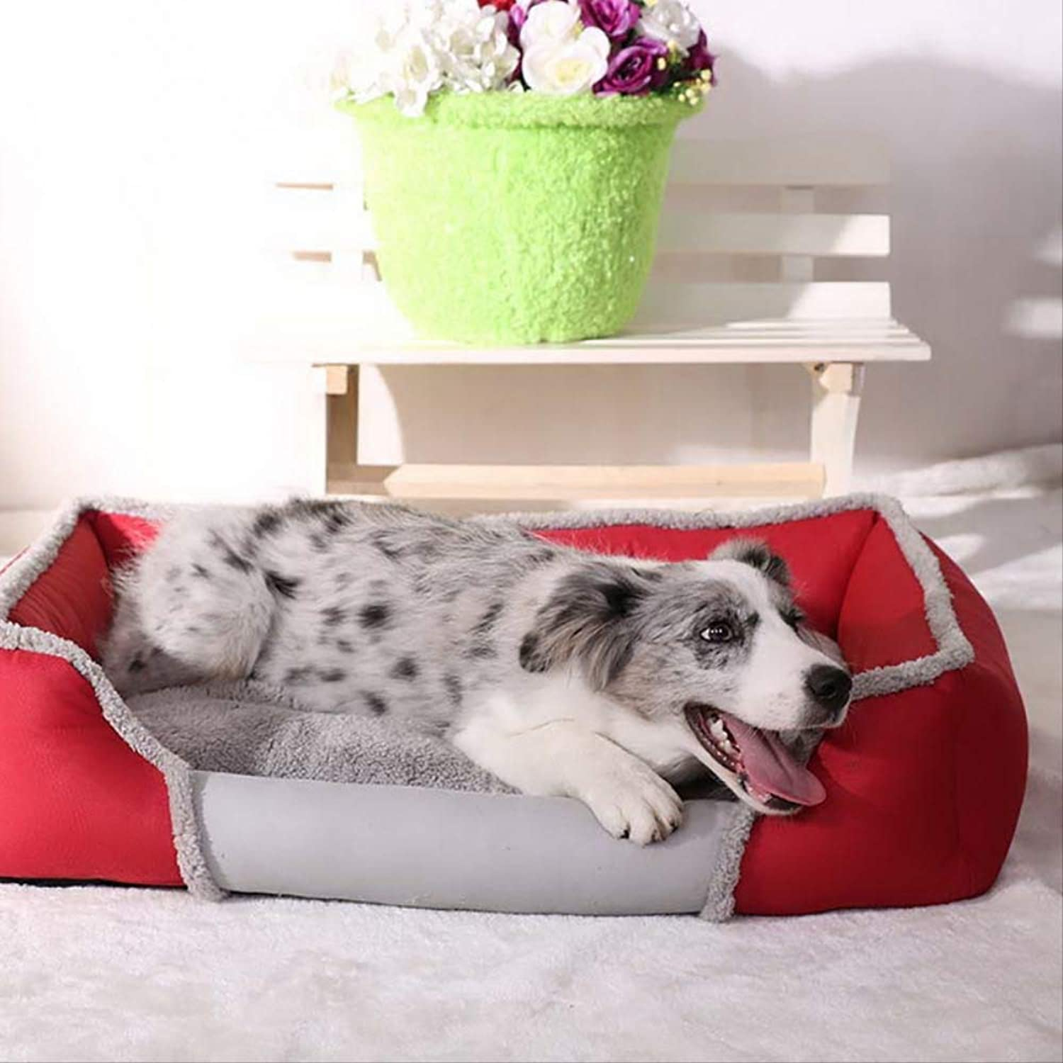 increíbles descuentos XIAOCONG Precioso Mascotawinter Kennel For For For Small Cat Bed Soft Dogs Bed Pet Dog Beds Warm Dogs House  centro comercial de moda
