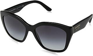 نظارة شمسية عين القط بلون رمادي للنساء من بيربري، طراز BE4261 30018G57