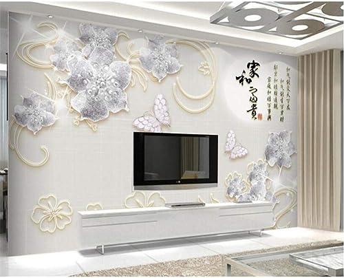 ofreciendo 100% YYBHTM Fondo De Joyería 3D Sala Sala Sala De Estar Dormitorio TV Wallpaper Wall  garantía de crédito