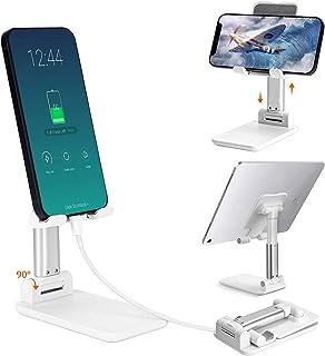 Universal Soporte Celular, Odar Soporte Ajustable para Teléfono Celular, Soporte de Tablet Multiángulo, Soporte Plegable p...