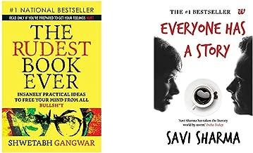 The Rudest Book Ever + Everyone Has A Story (Set of 2 Books)