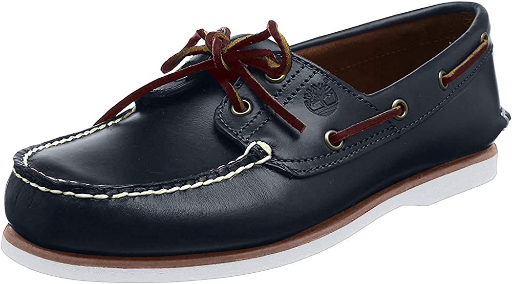 Timberland classic 2 eye scarpe mocassini da uomo in pelle TB07403648411
