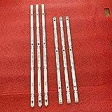 6 tiras de retroiluminación LED para LG 49UJ630 49LJ614V 49UJ634V 49UJ701V 49UJ670 49UJ651V 49UJ670 17Y 49LJ61 49LH61 49UJ65_A B_27LED.