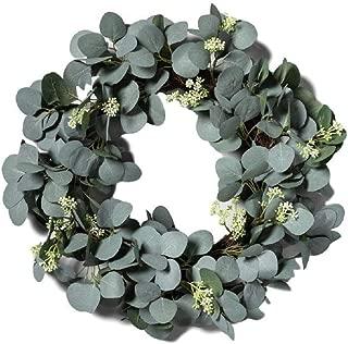 Hearth Hand Magnolia Eucalyptus Artificial Wreath 23