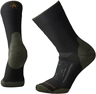 PhD Outdoor Heavy Crew Sock - Heavy Cushioned Merino Wool Performance Sock for Men and Women