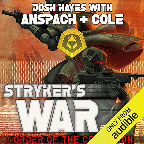 Stryker's War audiobook cover art