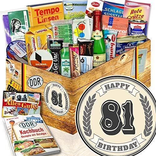 Geschenke 81 Geburtstag Mama - Geschenke 81 Geburtstag - Spezialitäten Ost