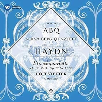 """Haydn: String Quartets, Op. 33 No. 3 """"The Bird"""", Op. 77 Nos. 1 & 2"""