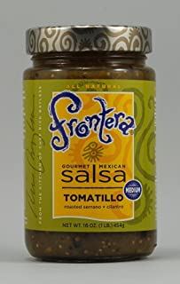 Frontera Foods Inc. Salsa, Tomatillo, Medium, 16-Ounce (Pack of 6)