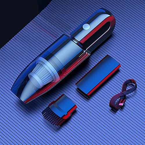 FAMYNGL Aspirador inalámbrico para automóvil Aspirador inalámbrico de Mano 120W Aspiradora de Alta Potencia Teclado para Muebles Herramienta de Brecha de Limpieza rápida Accesorio,Wired