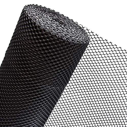50m² Maulwurfgitter in 1m Breite x 50m für Rasen- Rollrasen- Maulwurfsgitter für VERTIKALE Verlegung