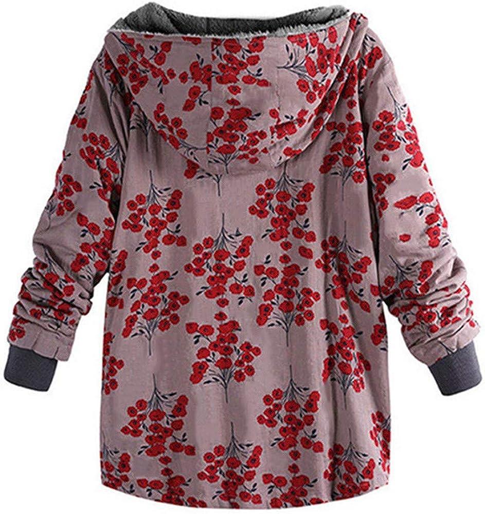 Damen Winter Mantel Winterparka Karmaa MYMYG genehmigen Klassisch Büro Anzüge Mantel Warme Mäntel Jacke Parka Winterjacke D2-rot