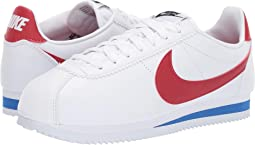 33f9145ebf30 White womens nike cortez basic leather casual shoes