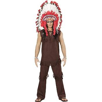 Amakando Traje Hombre Cacique - L (ES 52) | Disfraz Indio | Fiesta ...