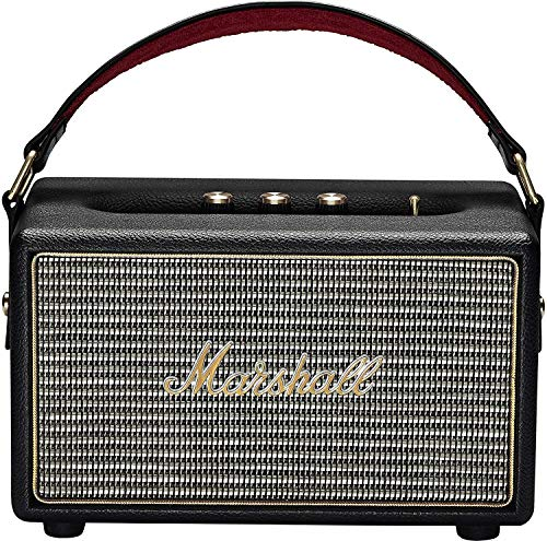Marshall Speaker Kilburn Portatile a Batteria Bluetooth per MP3/Smartphone, Nero