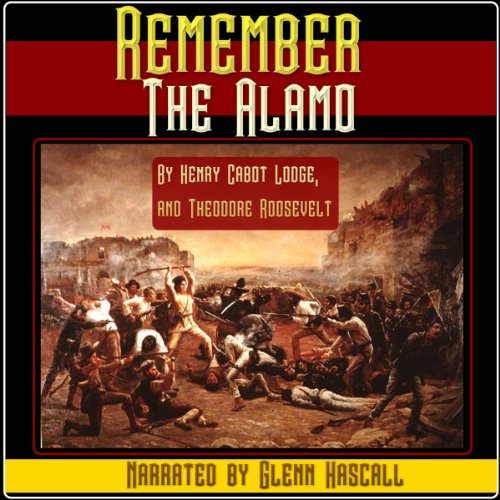 Remember the Alamo audiobook cover art