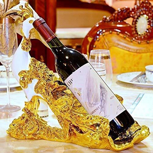 LIAOLEI10 Botellero Regalos para Bebidas Porta Botellas Vino Whisky Vinho Wine Rack, Versión V