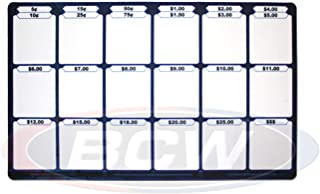 (1) Max Protection Pricing / Trading / Sorting Mat Trading Card PLAYMAT for Magic the Gathering, Pokemon, , Yu-Gi-Oh!, Sports Cards and More!