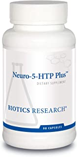 Biotics Research Neuro-5-HTP Plus™– Neurological Support, Calm Brain Activity, Healthy Sleep Patterns, Overall Sense of Well-Being, Promotes Relaxation, Serotonin Precursor, L-Theanine. 90 Caps