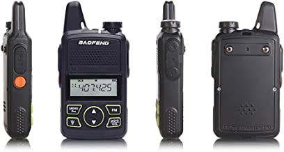 BF-T1 MINI Walkie Talkie UHF 400-470mhz Portable Two Way Radio Ham Radio Micro USB Transceiver+Programming cable