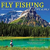 Fly Fishing Dreams 2022 12 x 12 Inch Monthly Square Wall Calendar, River Lake Outdoor Sport