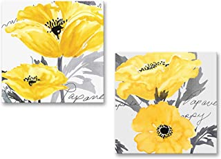 yellow flower canvas prints