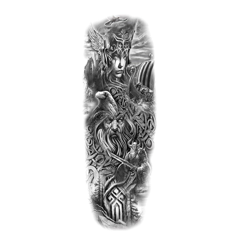 ATCWA Extra Large Waterproof Full Temporary Realist Finally Sale popular brand Arm Tattoos