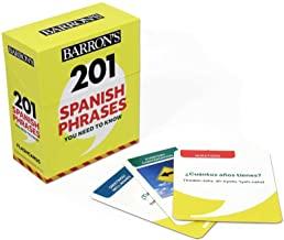 201 Spanish Phrases You Need to Know Flashcards (Barron's Foreign Language Guides)