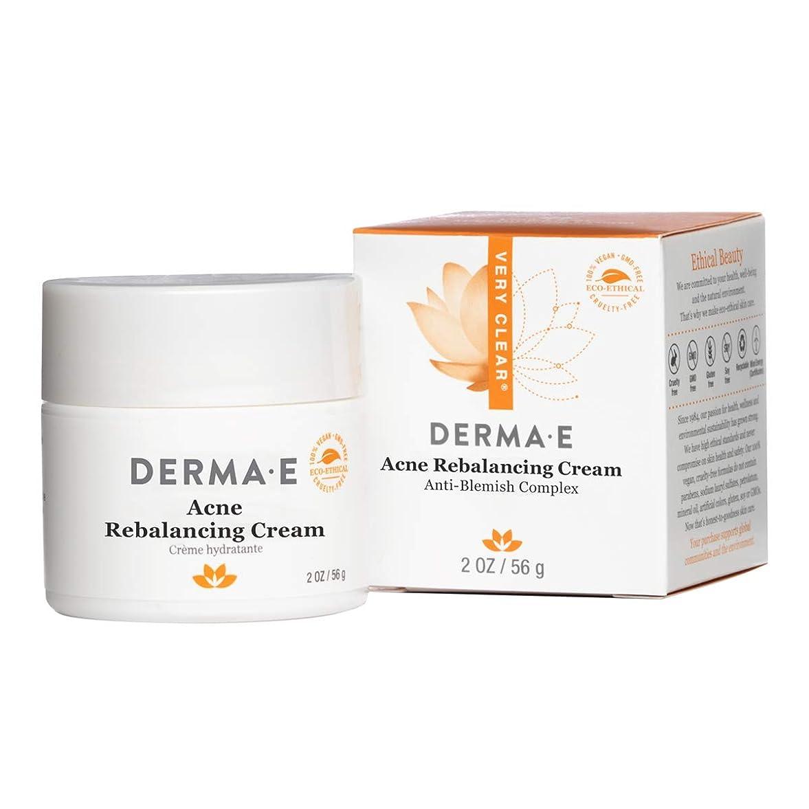 ショッピングセンター急降下挑発するDerma E Very Clear Moisturizing Cream 56g/2oz並行輸入品