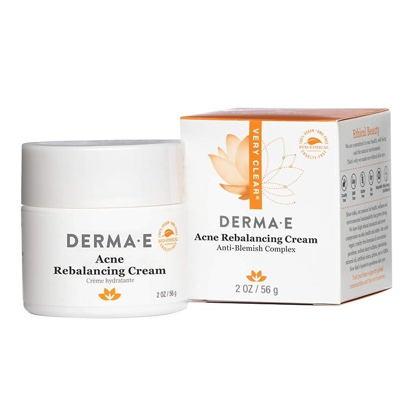 不安定な縞模様の遺体安置所Derma E Very Clear Moisturizing Cream 56g/2oz並行輸入品
