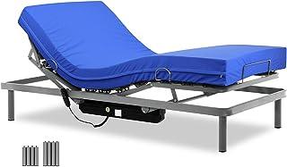 comprar comparacion Gerialife® Cama articulada con colchón Sanitario HR Impermeable (90x190)