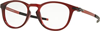 PITCHMAN R OX8105-810511 Eyeglasses TRANS BRICK RED 50mm