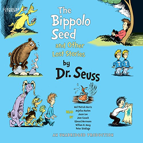 The Bippolo Seed and Other Lost Stories audiobook cover art