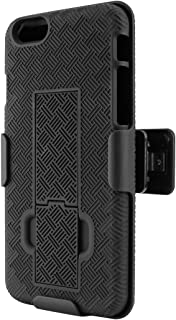 Cellet HLIPH62 Shell + Holster + Kickstand Combo Case for Apple iPhone 6, iPhone 6s, iPhone 7 (4.7 in)