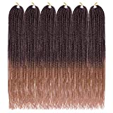 Ailsa Senegalese Twist Crochet Hair 6Packs Crochet Braids Senegalese Twist 14inch Crochet Senegalese twist Hair Extensions(T27)