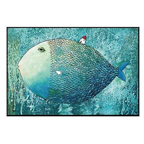 Schilderij Beeld Frame Vis Kleine Huis Kamer Hoge Materiaal Muur Etc Kwaliteit Vochtbestendig Eprocess Treksterkte Punch Dierenkop