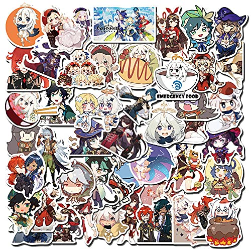 SHUYE Anime Nichiman Original God Graffiti Laptop Guitar Skateboard Pegatinas Impermeables 100 Hojas