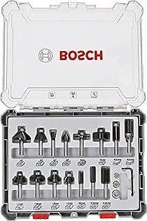 Bosch Professional 2607017472 Frässuppsättning, 8 mm Skaft, 15 Delar