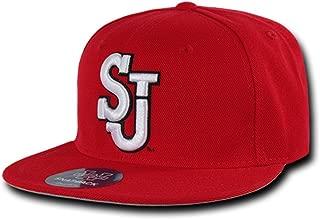 SJU St. Johns Red Storm NCAA Freshman Fitted Flat Bill Baseball Cap Hat
