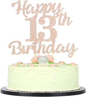 Best cake toppers for 13th birthday Reviews