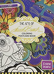 The Art of Laurel Burch Coloring Postcards