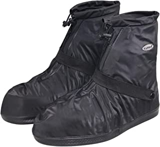 SZAT PRO Waterproof Rain Shoe Cover Boot-XL Black