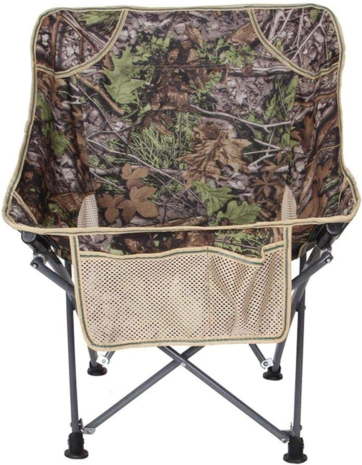 Folding Chair Portable Camping Stool Comfortable Lazy Chair