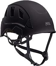 Petzl Strato Vent Rope Access Rescue Black Helmet ANSI Z89.1 OSHA