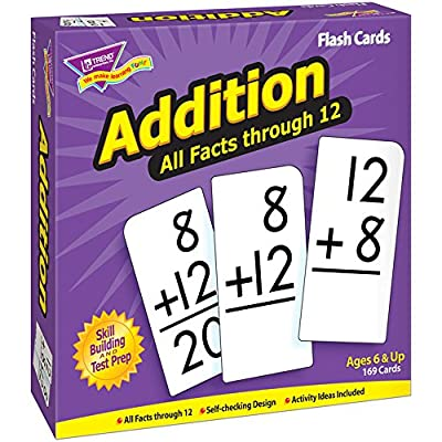 Addition 0-12 (all facts) Flash Cards by Flat River Group