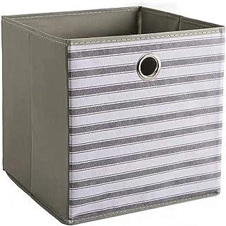 WPCASE Panier Tissu Panier De Rangement Cube De Rangement Tissu Paniers De Rangement Boite De Rangement Tissu Boite Rangem...