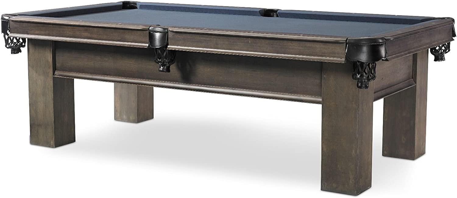 Plank Hide Elias 8 ft Billiards Pool Gray Table Challenge the lowest price of Japan ☆ - All stores are sold Shadow